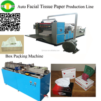 6 Lanes Automatic Interfolding Facial Tissue Machine