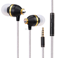 Factory Good Quality BENWIS EMP 100 Diamond Design Wired Earphone for iPhone,for iPad, for Samsung mobile phone Earphone with Mi