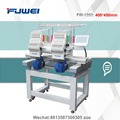 Fuwei 2 head embroidery machine with