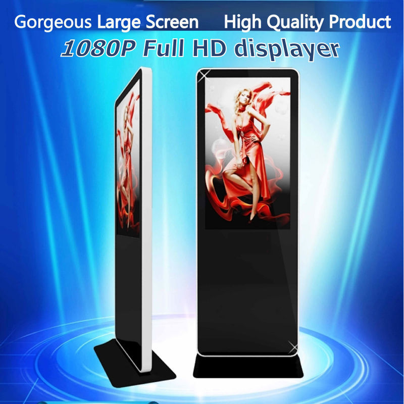 looking for distributor or agent 37 inch easy operation floor stand alone led advertising display kiosk