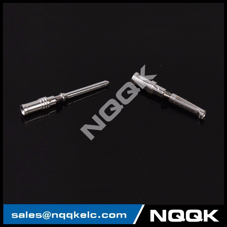4 Cold pressing needle male female crimp contacts for heavy duty connector.JPG