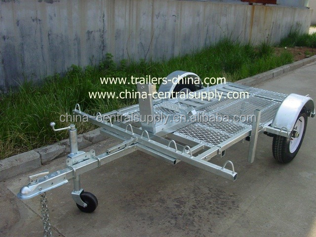 Double motorcycle Trailer CT0303