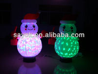 Colorful Christmas Inflatable Snowman