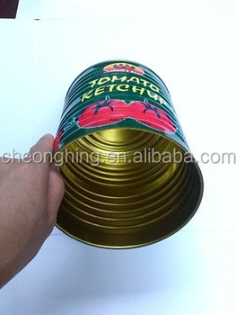 Amazing and beautiful weld treatment big volume paste tin