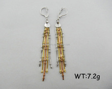 Unique Shape clip on earrings jewelry wholesale indian jewelry earrings