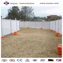2015 good quality temporary wood fencing