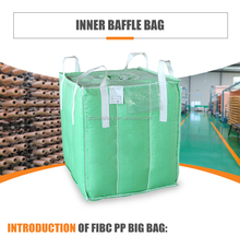 1 ton 2 ton china factory FIBC baffle big bulk bag SWL