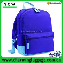 600D blue middle school book bag