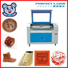 60W/80W/100W120W/150W wood/ Acrylic/ Fabric / leather Laser engraving machine for leather jacket