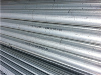 Zinc coated ASTM A53 Gr.B galvanized tube