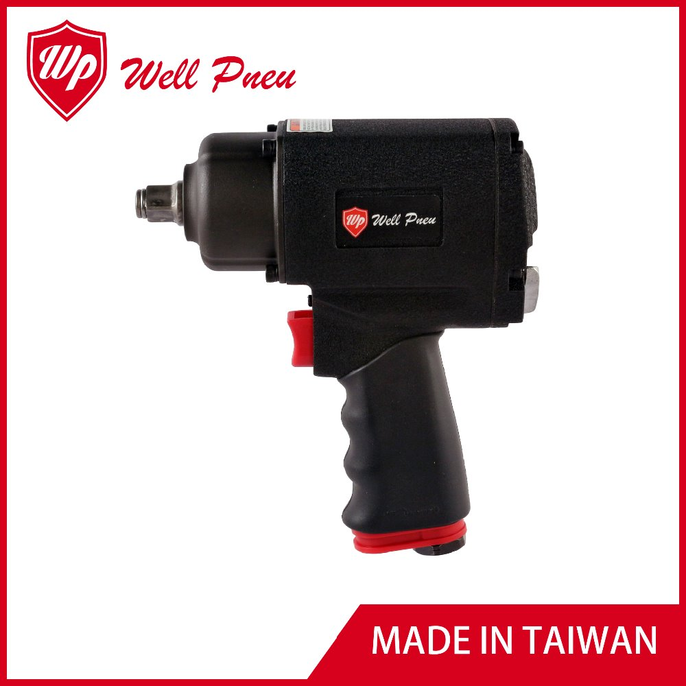 "PW-0410 Best Selling Automobile Repair Durable Metal Adjustable Torque 1/2"" Air Impact Wrench"