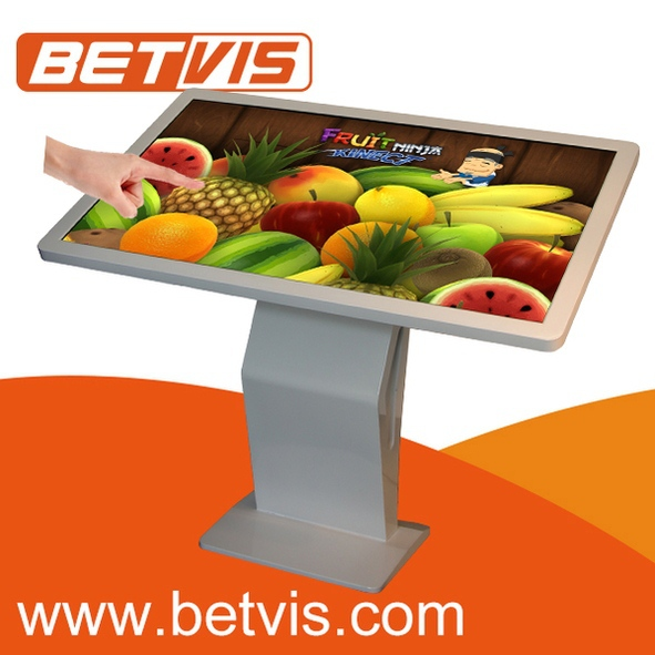 "Easy-to-install 22"" touch screen self service terminal kiosk stand pc touch screen"