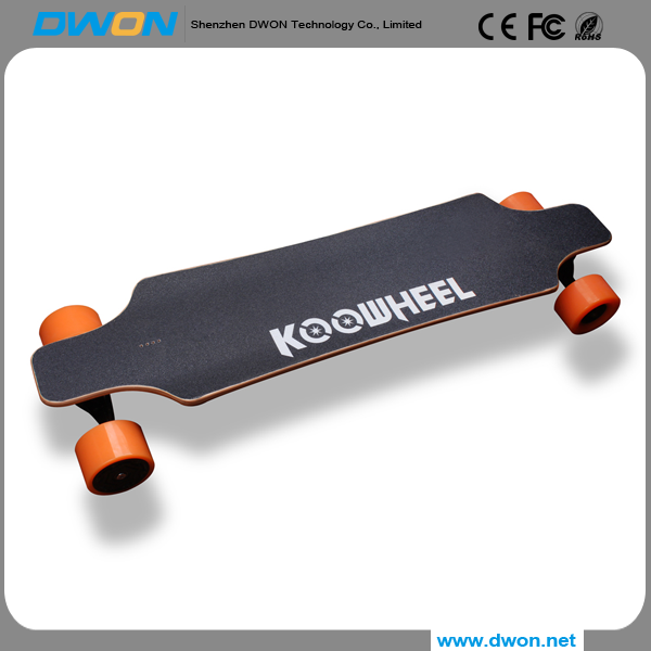 High quality wholesale 90*52MM wheels electric skateboard deck longboard skateboard trucks for Junior / adult