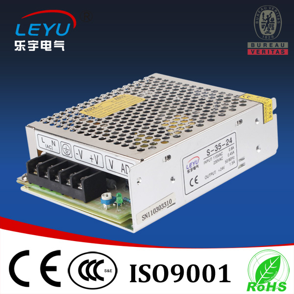 Whole sales transformer power S-35-15 35W 240v ac input 15v dc output PSU mini size two year warranty