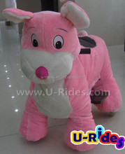 Pink mouse battery operated rides animals