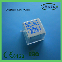 laboratory use 20*20mm cover glass