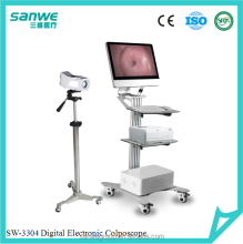 Digital Video Colposcope with exra 3.5 inch monitor//SW-3304 Colposcope// Colposcope with Software and Camera