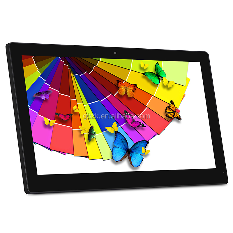 IPS 15 inch 1920*1080 Android Touch Screen 15.6 Inch Wall Mount LCD Digital Signage , indoor LCD Advertising Player