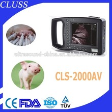 Health medical equipment CLS-2000AV cheap ultrasound machine price for pig