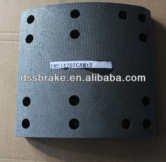 None-asbestos brake roll lining for truck