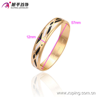 new design 18k gold elephant charm latest design daily wear bangles
