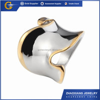 FR0306 most attractive titanium forged rolling ring jewelry