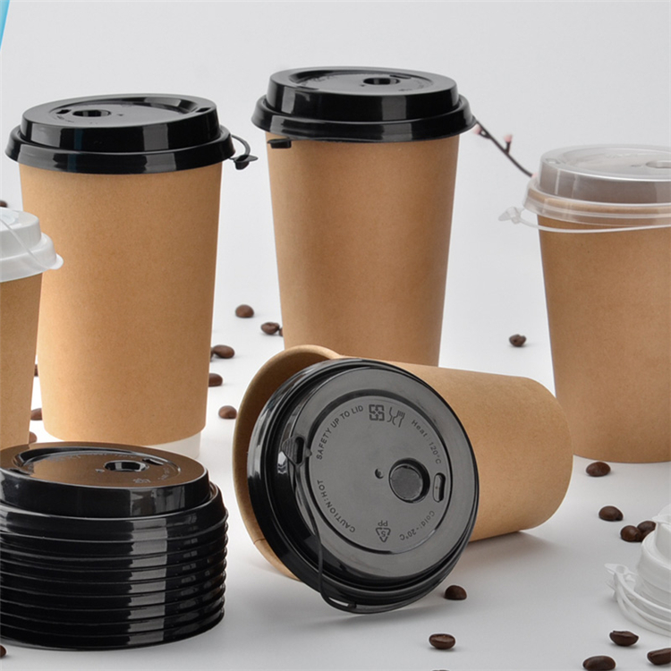 Custom disposable coffee cups for vending