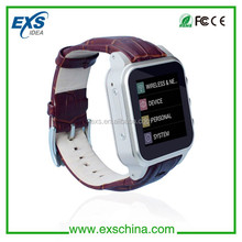 2014 cheapest watch phone support internet use/gps tracking for android smart watch