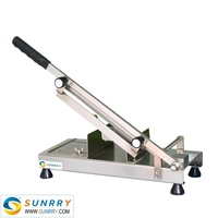 Manual 100 PCS/MIN Beef/meat Roller Slicer Machine Made Of Stainless Steel For Meat Cutting (SUNRRY SY-MS300M)