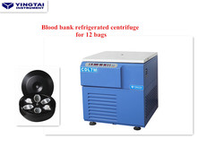 Blood bank refrigerated centrifuge for 12 bags Yingtai CDL7M high quality