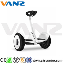 15-25km range per charge xiaomi electric self balance scooter with handlerbar