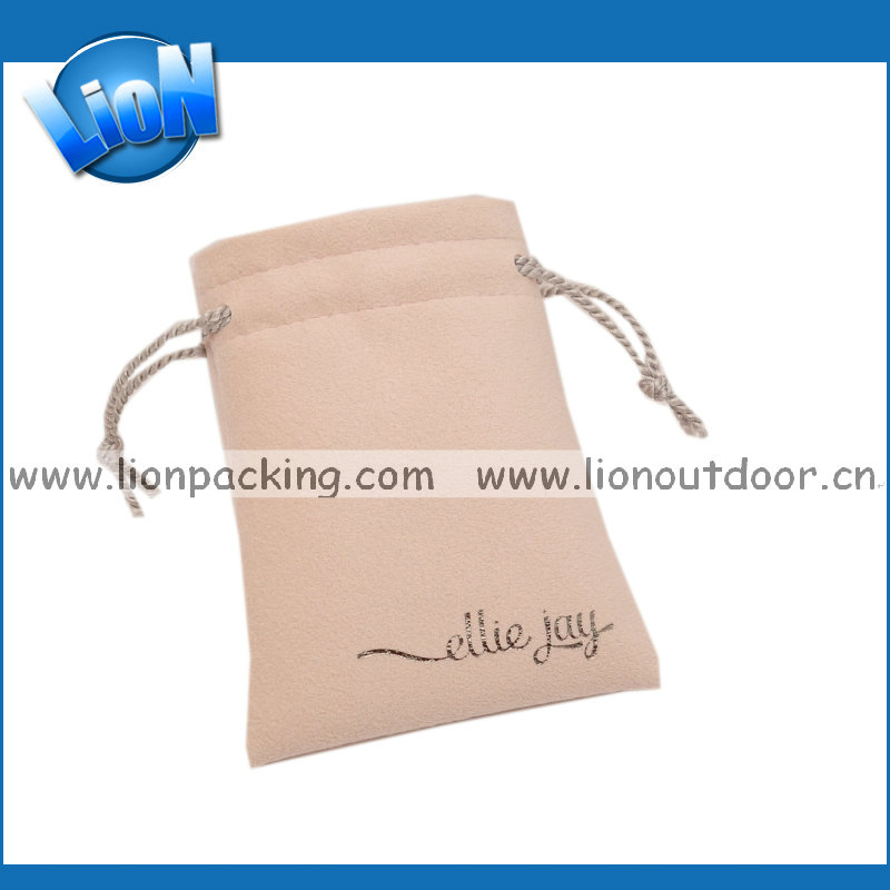 Factory supplier small suedes promotional pouch cell phone/lady's bag
