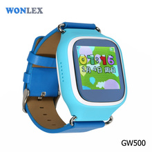 Wonlex Touch Screen Color Kids baby gps tracking smart watch positioning watch child locator watch cheap price