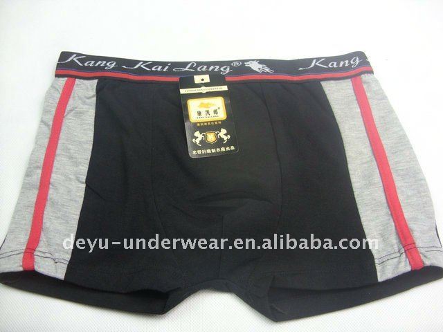 0.71USD Flexible Cotton High Quality Mens' Boxer Panties(jlhnk054)