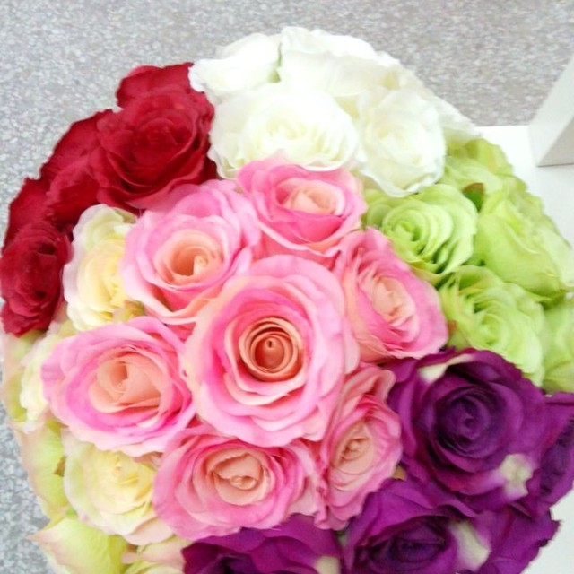artificial wedding flowers artificial fake rose flowers on sale