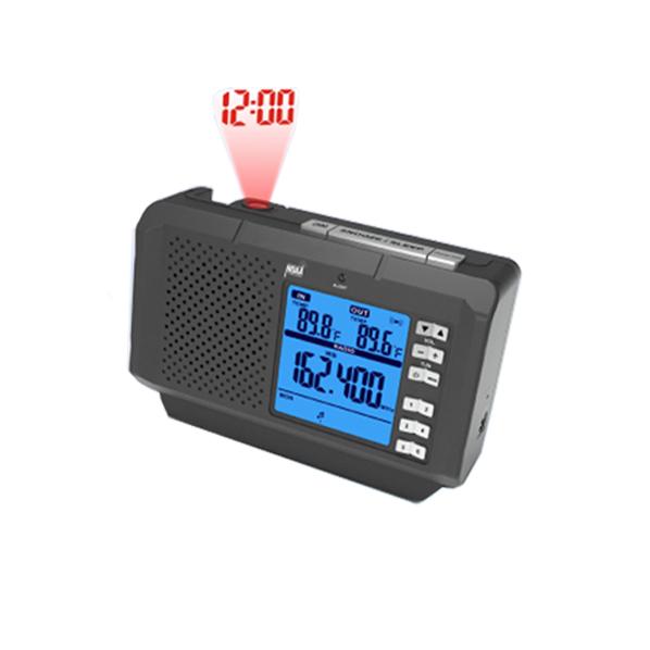 NOAA weather radio avec température intérieure humidité horloge de projection - ANKUX Tech Co., Ltd
