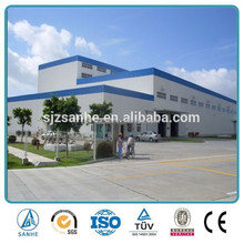 China Manufactured Prefab Steel Frame Structure Workshops(drawings provided)