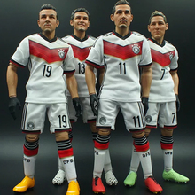 3d plastic action figure toy movable joints 6inch custom soccer figure for sale
