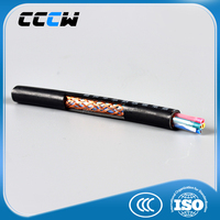 Copper conductor thin insulated copper wire PVC insulated shield cable