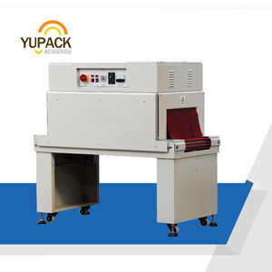 YUPACK Heat Shrink Tunnel Wrap Machine with poe pof films