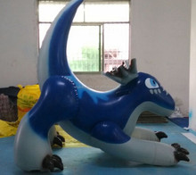 Hot sale giant inflatable blue dragon, dragon inflation animation for advertsing