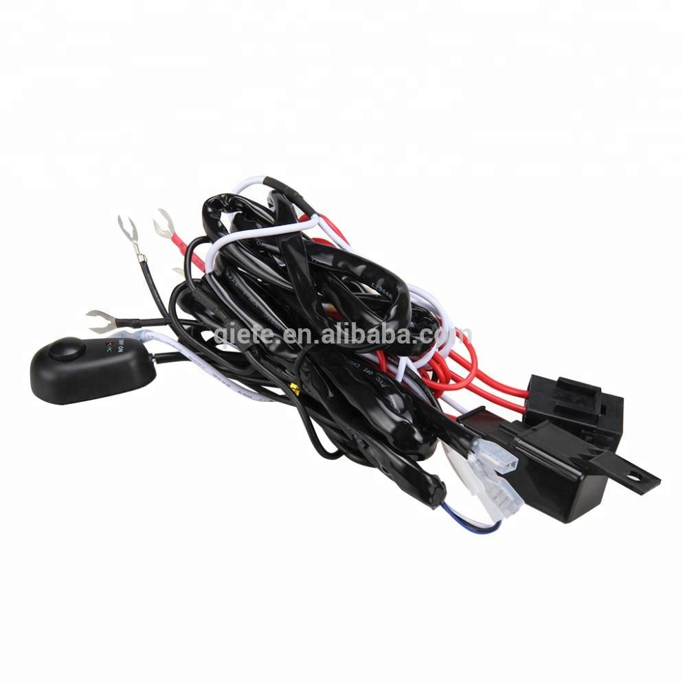 Wholesale Harness Fuse Online Buy Best From China Fog Light Kit Universal Car Wiring Strongharness Strong Loom For