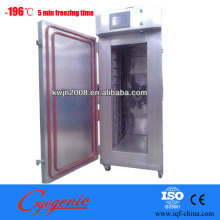 ginger strip iqf freezing machine