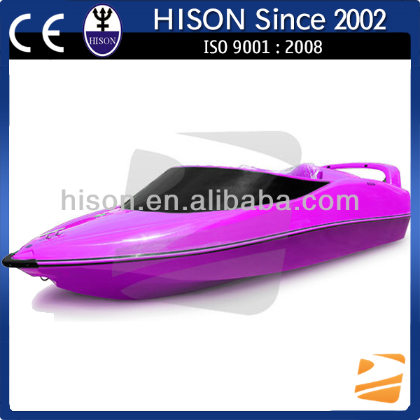 China manufactures 2 seats small jet fishing boat for sale