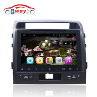 Bway 2 din car audio for TOYOTA LAND CRUISER LC200 Quadcore android 4.4 car dvd gps with 3G,wifi,1G RAM,16GB Nand