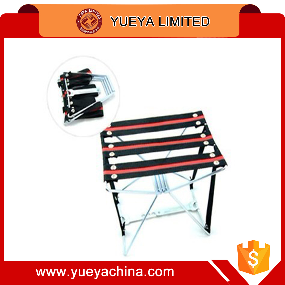 new design high quality steel wire folding stools