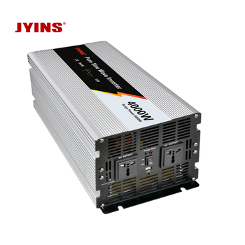 4000W 12v 24v 48v dc to ac 110v 220v pure sine wave solar power inverter