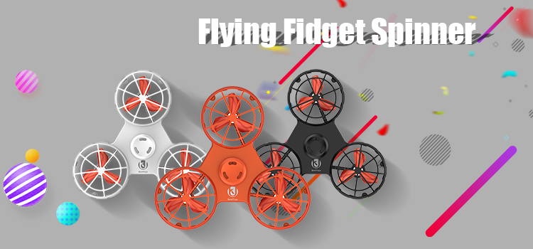 Best selling quality chinese products Adult Toy Finger Flying Drone Spinner
