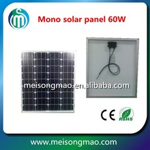 Mono solar panels wholesale with best price