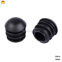 22mm semicircular round plastic tube inserts/pipe plugs